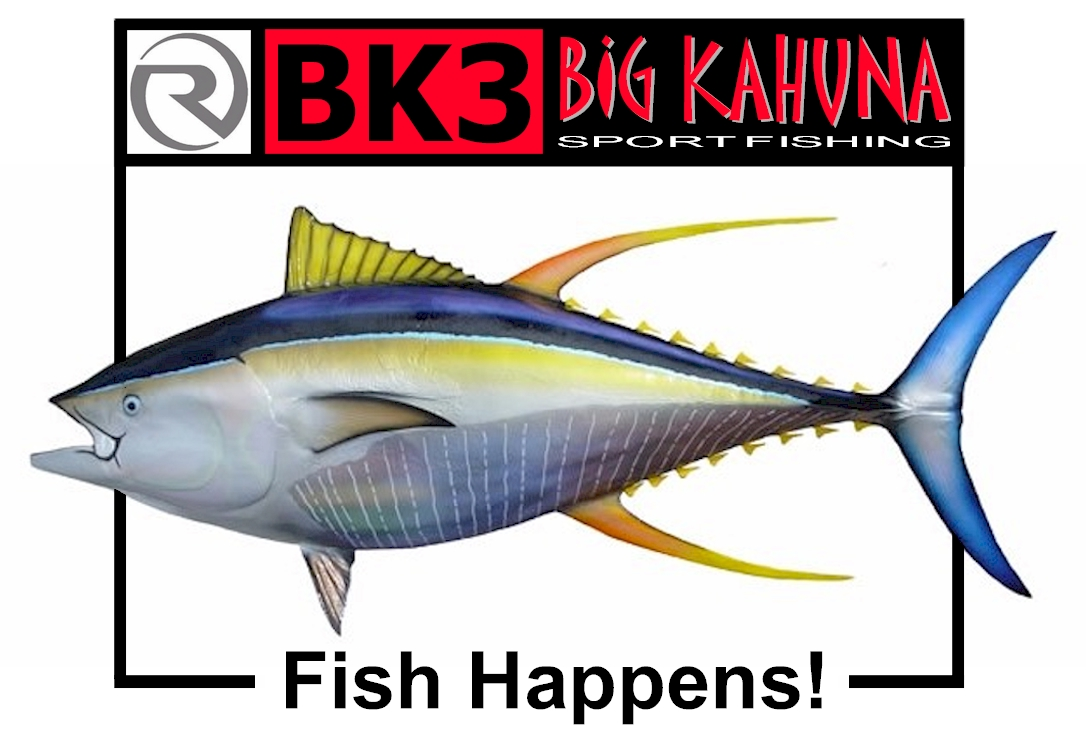 Big kahuna sportfishing fish weight calculator for marlin for Fish weight calculator